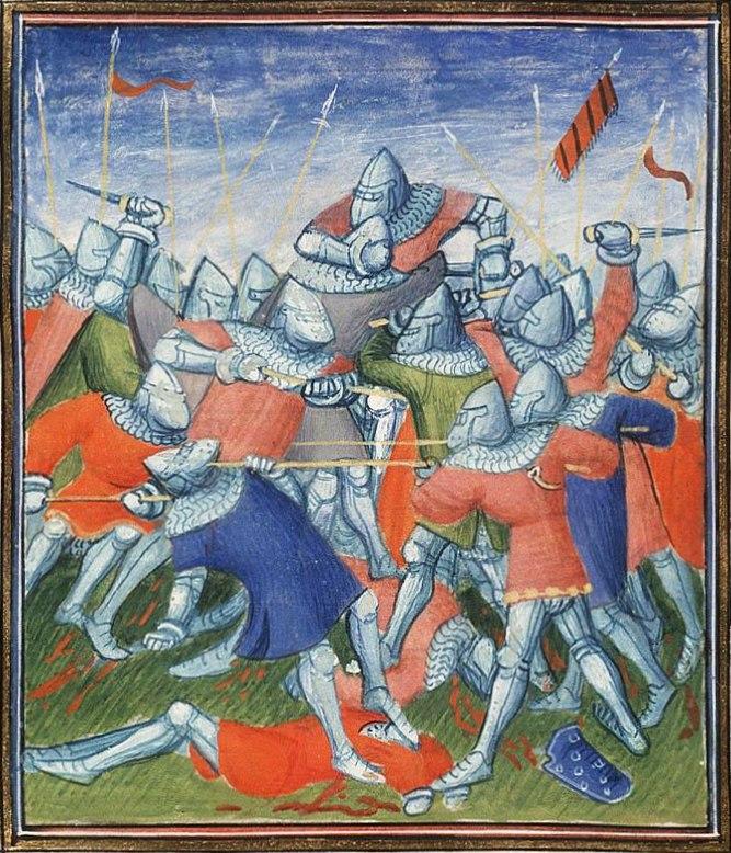 The battle of Auray