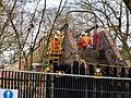 The demolition of Petts Wood Junction footbridge. (32846017302).jpg