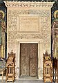 The entrance of the Antim Monastery Church.jpg
