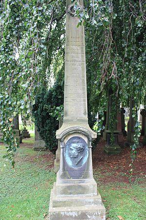 John Lisle Hall McFarlane - The grave of John L H McFarlane, Dean Cemetery, Edinburgh