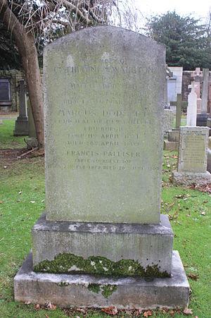 Marcus Dods (theologian born 1834) - The grave of Marcus Dods, Dean Cemetery, Edinburgh