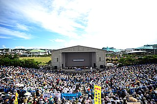 Protests of US military presence in Okinawa