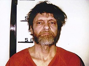 Booking photo of Theodore Kaczynksi