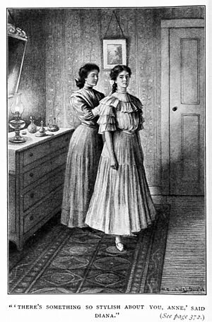 Anne of Green Gables - Diana and Anne