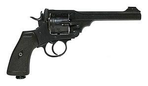 Webley Revolver - Image: Thinktank Birmingham object 1949S00001