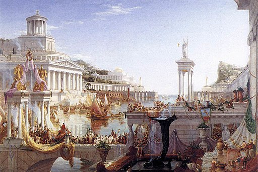 Thomas Cole - The Consummation of the Empire - WGA05143