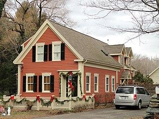 Thomas Fleming House (Sherborn, Massachusetts) historic building in Sherborn, Massachusetts