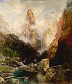 Thomas Moran - Mist in Kanab Canyon, Utah - Google Art Project.jpg
