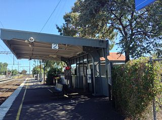 Thornbury railway station, Melbourne railway station in Thornbury, Melbourne, Victoria, Australia