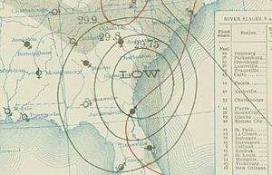 1911 Atlantic hurricane season - Image: Three 1911 08 28 weather map
