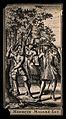 Three men in a wood, a scene from Molière's play Le médecin Wellcome V0016111EL.jpg