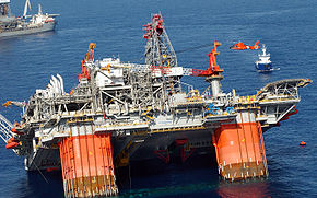 Thunder horse, oil platform, sinking, July 2005 U.S. Coast Guard picture.jpg