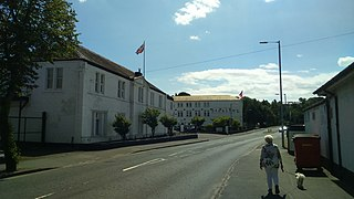 Tillicoultry Town in Clackmannanshire, Scotland