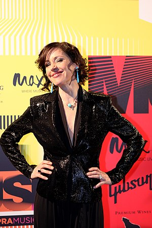 ARIA Music Awards of 2015 - Image: Tina Arena (7286242202)
