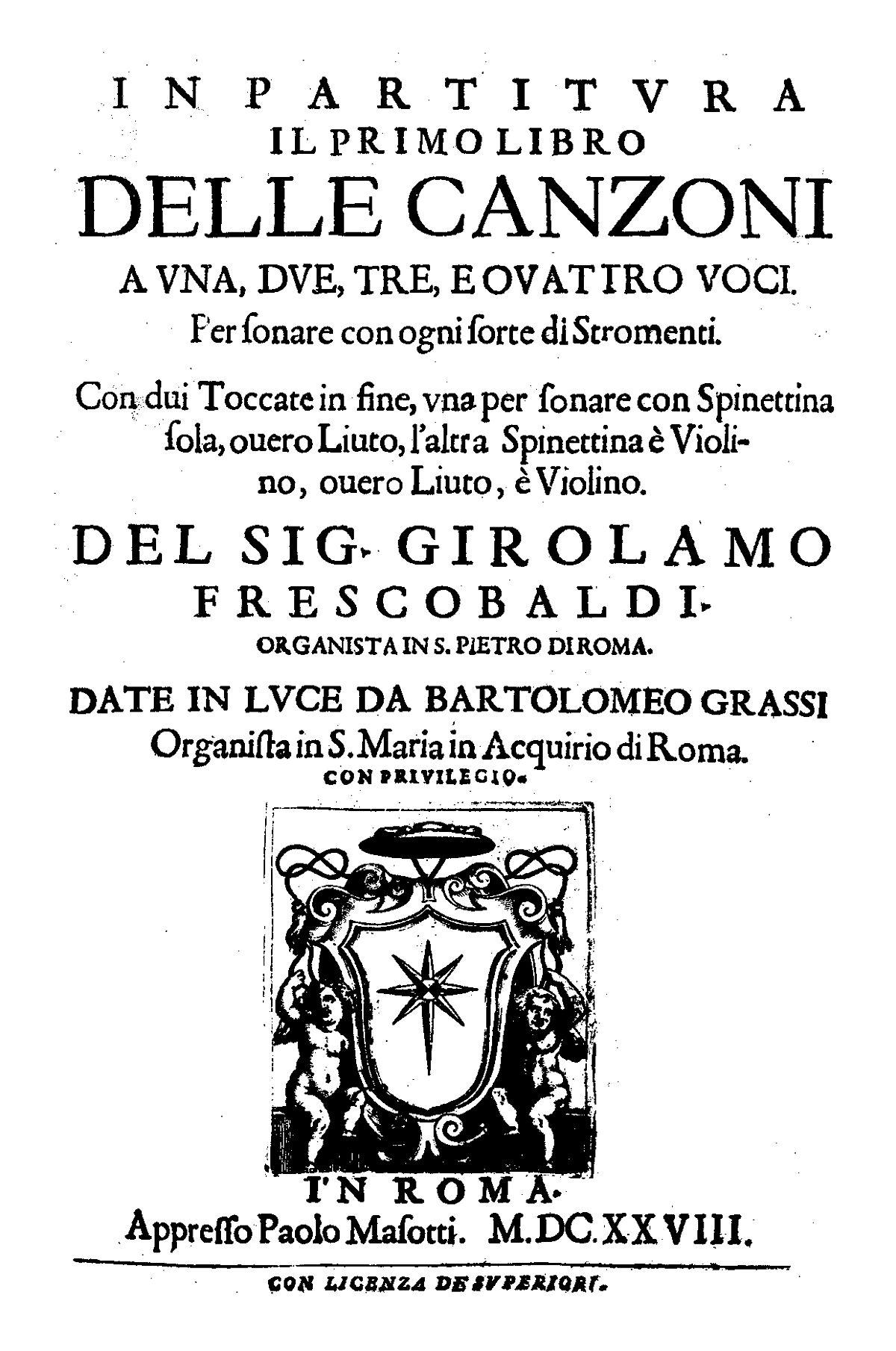 Il Primo Libro delle Canzoni - Wikipedia