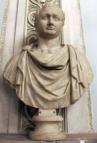 Titus - Bust of Emperor Titus, in the Capitoline Museum, Rome.