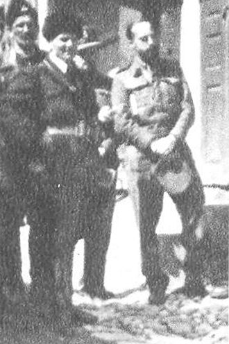 Terence Atherton - Atherton (on the right) in February 1942 in Foča