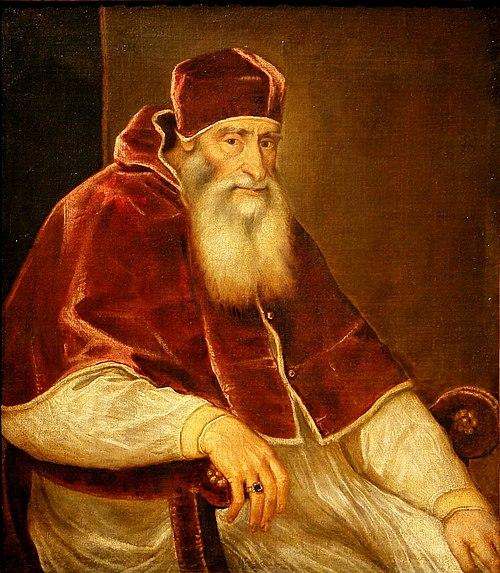 Paulo III, papa.