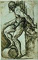 Tizian (Tiziano Vecellio) - Study for St. Sebastian on the high altar of SS. Nazaro e Celso, Brescia - Google Art Project.jpg