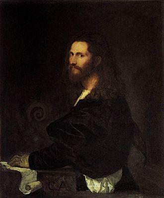 Galleria Spada - Image: Tiziano, ritratto di musico, galleria spada