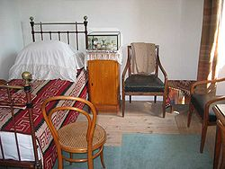 Room of Leo Tolstoy in Yasnaya Polyana.