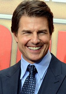 Tom Cruise a Parigi per la prima di Edge of Tomorrow - Senza domani (2014)