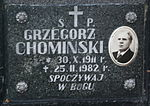 Tomb of Chomiński family at Central Cemetery in Sanok 2 Grzegorz.jpg