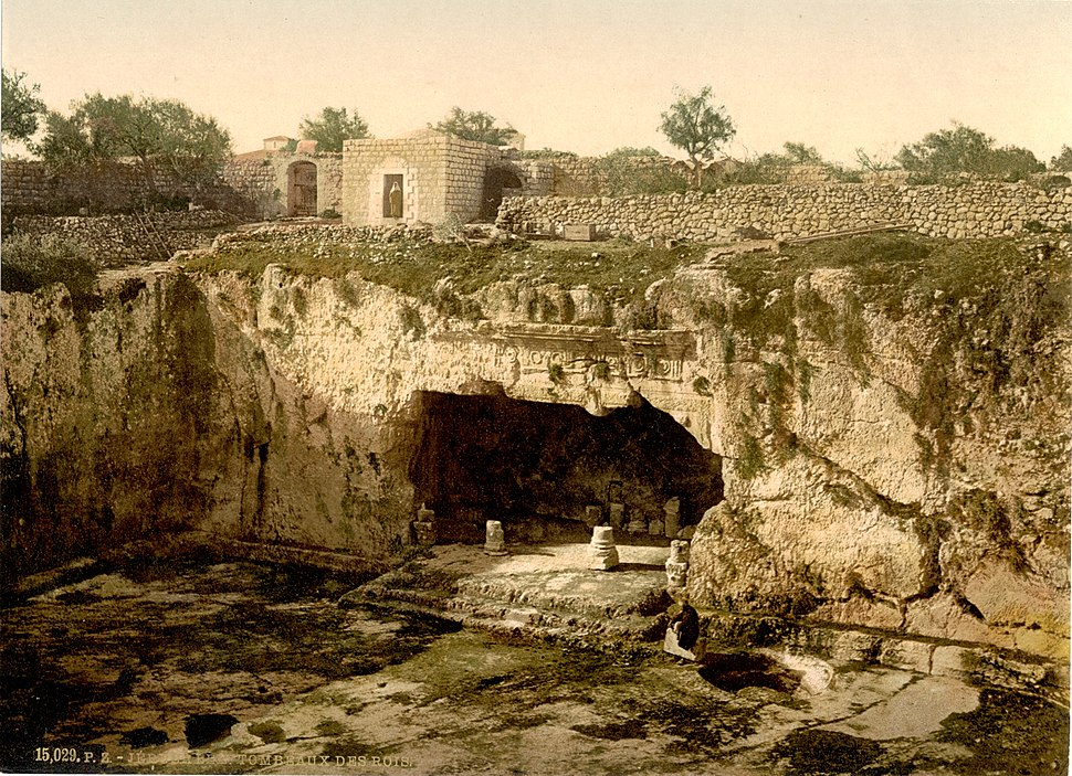 Tombs of the kings, Jerusalem, Holy Land-LCCN2002725016