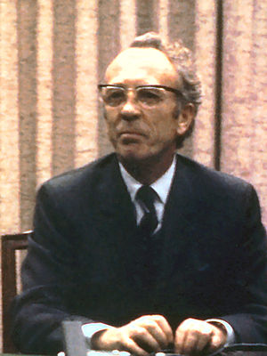 Tommy Douglas, former Premier of Saskatchewan