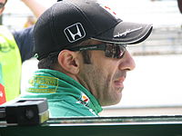 Tony Kanaan 2009 Indy 500 Second Qual Day.JPG