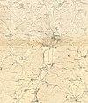 100px topografische karte marburg und umgebung 1857