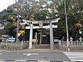 Torii of Izu Shrine in Mizumaki, Fukuoka.JPG
