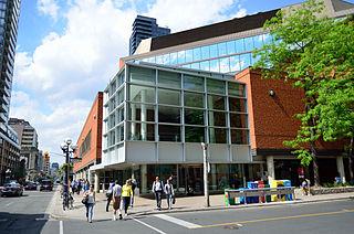 public library in Toronto, Canada