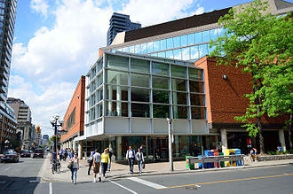 Toronto Public Library - The Toronto Reference Library was merged with the other library boards of Toronto following Metropolitan Toronto's amalgamation in 1998.
