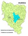 Torres de Alcanadre mapa.png