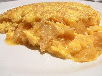 Spanish omelette - Soft tortilla de patatas