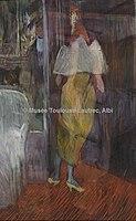 Toulouse-Lautrec - FEMME EN TOILETTE DE BAL A L'ENTREE D'UNE LOGE DE THEATRE, 1894, MTL.165.jpg