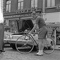 Tour de France , in Charleroi, de Nederlandse ploeg. Wout Wagtmans , zijn fiets , Bestanddeelnr 908-7406.jpg