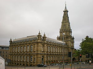 Calderdale Metropolitan Borough Council - Image: Town Hall, Halifax geograph.org.uk 1542645
