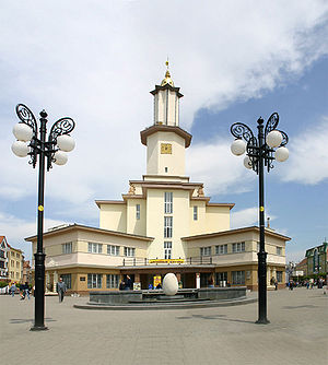 Ratusha (Ivano-Frankivsk) - Contemporary view (south)