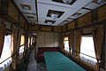 Train carriage interior - Historical exhibition of railway rolling stock in Kyiv 4.jpg
