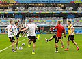 Training Germany national team before the match against Brazil at the FIFA World Cup 2014-07-07 (3).jpg