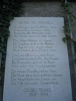Georg Trakl Wikipedia
