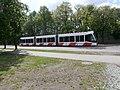 Tram 502 at L. Koidula Stop in Tallinn 2 June 2015.JPG