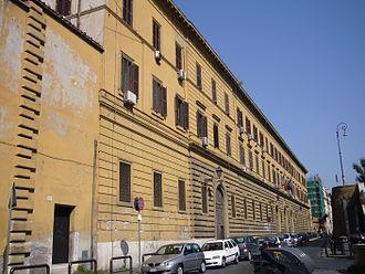 Regina Coeli (prison) - Lungara street façade of the Regina Coeli prison