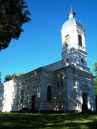 Traupis - Image: Traupio bažnyčia
