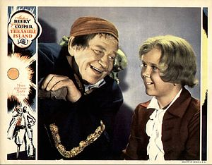Treasure Island (1934 film) - Lobby card