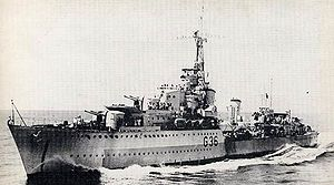 HMS Nubian (F36) - Image: Tribal DD HMS Nubian