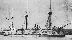 French ironclad Triomphante - Image: Triomphante