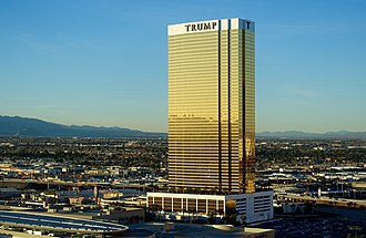 Trump International Hotel Las Vegas - Trump International Hotel Las Vegas, January 2017.